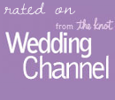 Featured on The Wedding Channel website